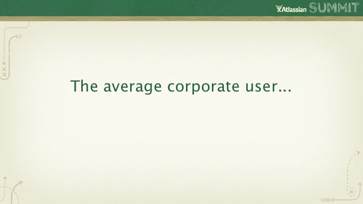 The average corporate user...   Sends 34 emails/day *