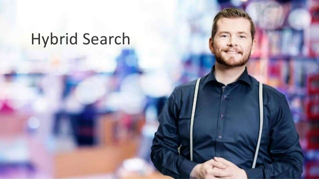 WWW.COLLAB365.EVENTS Hybrid search