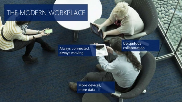 THE MODERN WORKPLACE