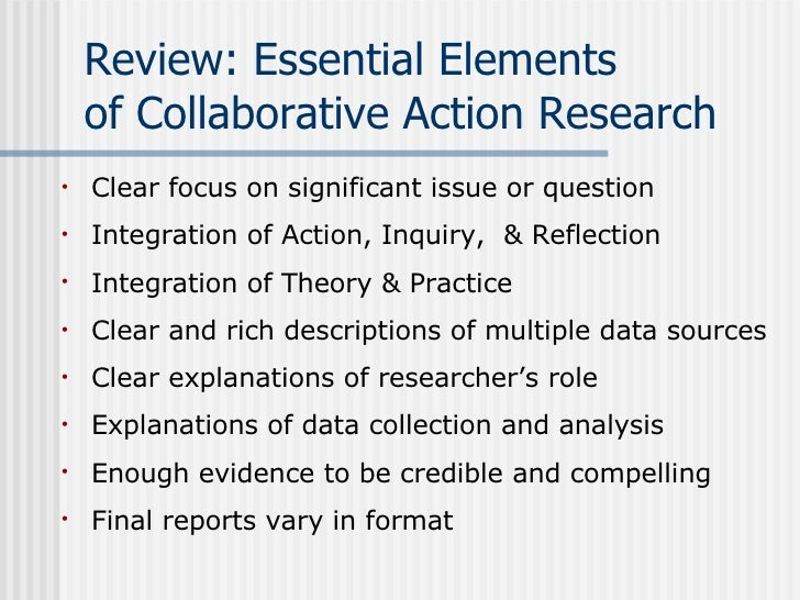 Collaborative Review Teaching : Collaborative action research on the learning and teaching of