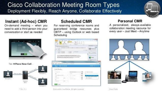 Cisco Conference Room Scheduling