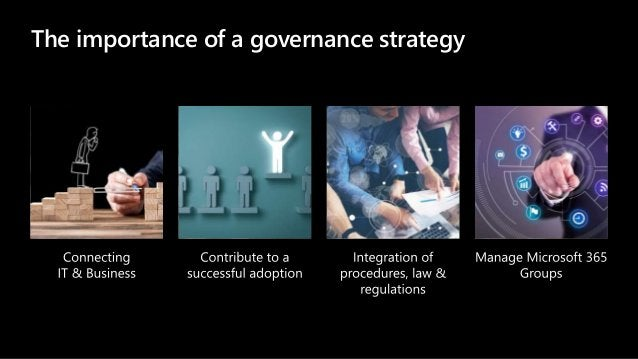 The importance of a governance strategy