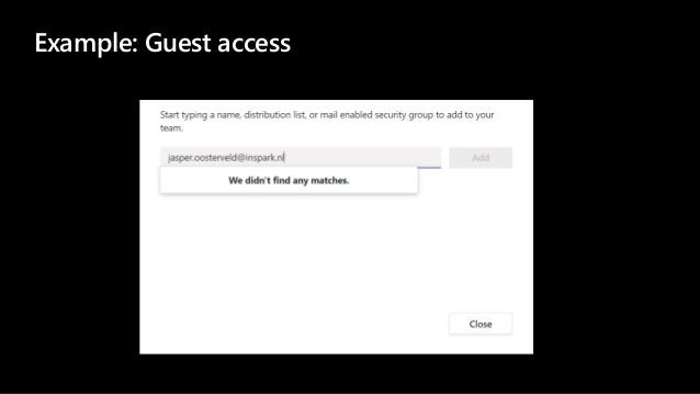Example: Guest access