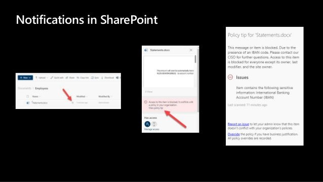 Notifications in SharePoint