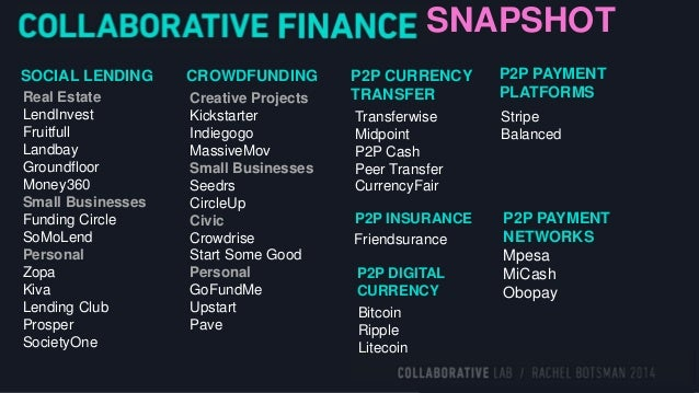 Collaborative Finance: Democratizing Finance, Money and Banking Slide 3
