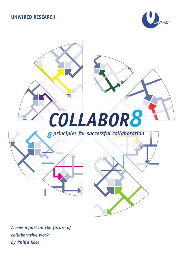 UNWIRED RESEARCH A new report on the future of collaborative work by Philip Ross COLLABOR88 principles for successful coll...