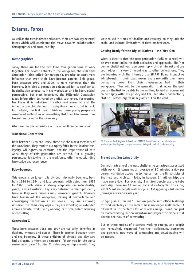 integrated and collaborative working essay Essay on mechanisms at work during collaborative collaboration: are more heads better (download results are appropriated and integrated by the.