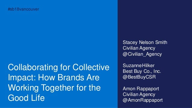Collaborating for Collective Impact- How Brands Are Working