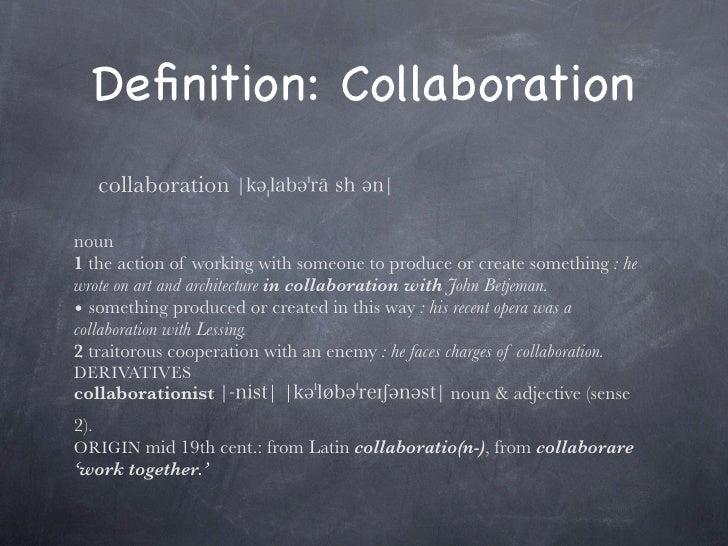 Collaboration Slide 2
