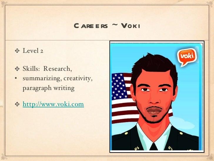 <ul><li>Level 2 </li></ul><ul><li>Skills:  Research,  </li></ul><ul><li>summarizing, creativity, paragraph writing </li></...