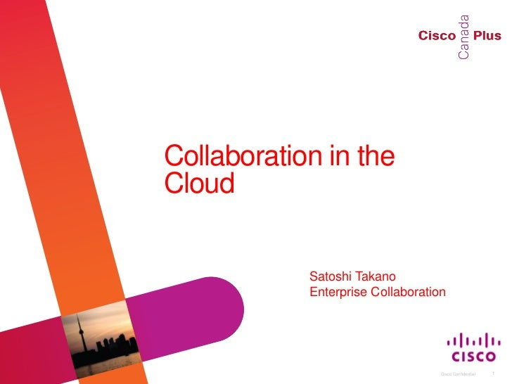 Collaboration in the                                                           Cloud                                      ...