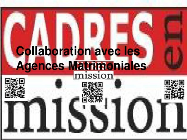 Collaboration avec lesAgences Matrimoniales