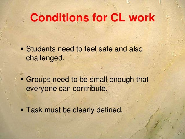 COLLABORATION MAKES CLASSES MORE EFFECTIVE & SUCCESSFUL