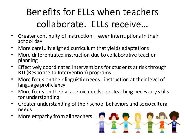 Collaborative Co Teaching : Collaboration co teaching for esl professionals