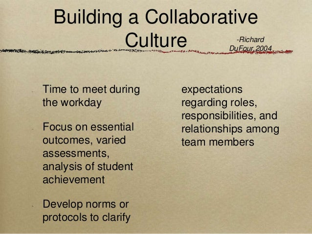 Collaborative Teaching Roles And Responsibilities ~ Teacher collaboration