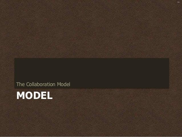 SMThe Collaboration ModelMODEL