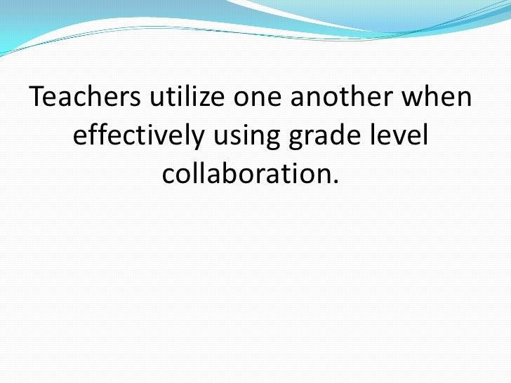 Collaborative Teaching Development ~ Collaboration in education