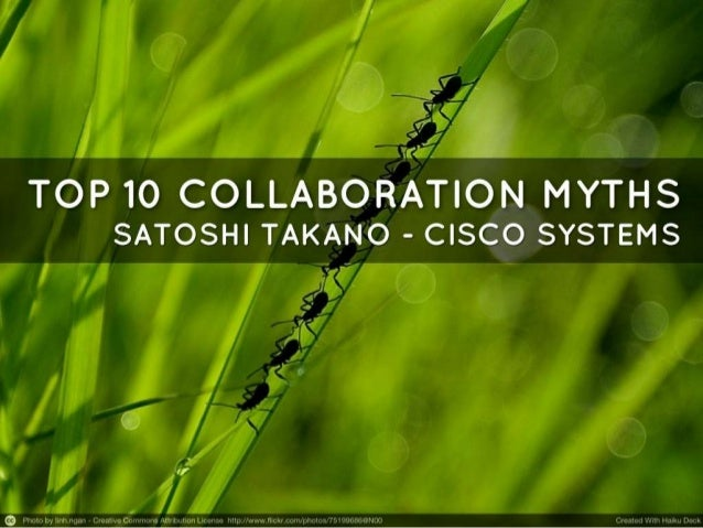 Collaboration Myths Top 10