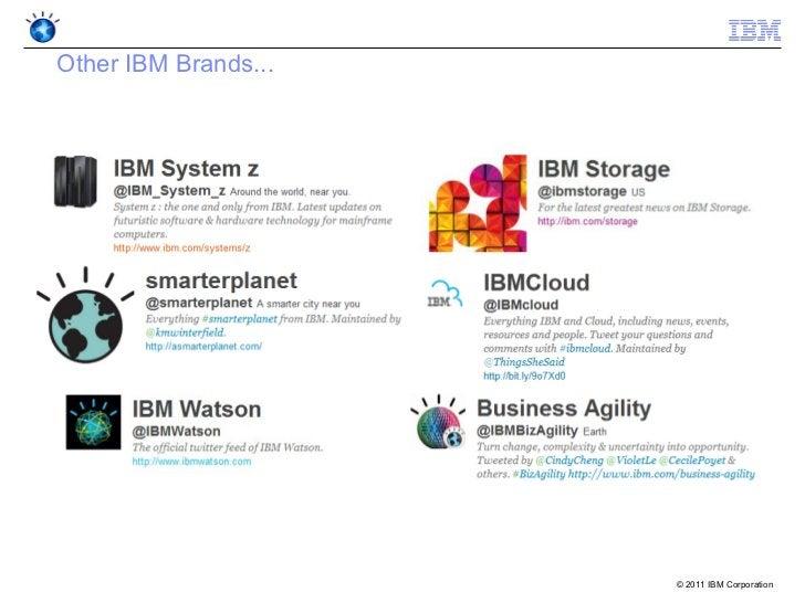 Other IBM Brands...                      © 2011 IBM Corporation