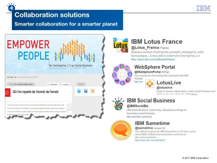 © 2011 IBM Corporation