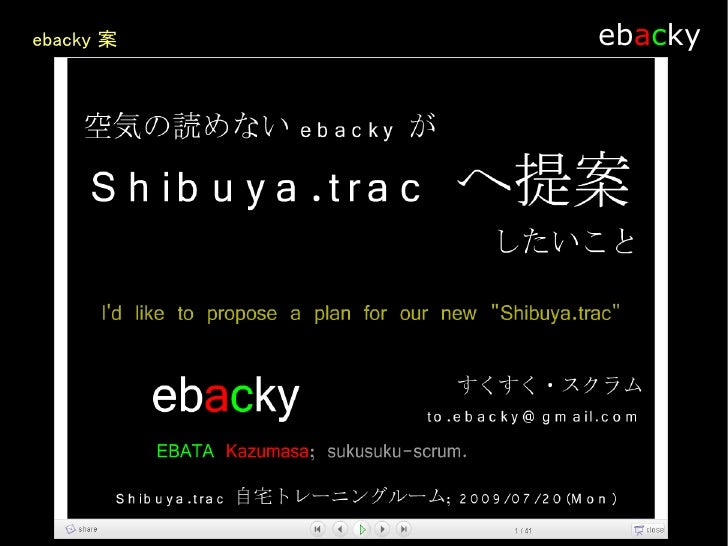 ebacky     話し合いたいこと        Theme
