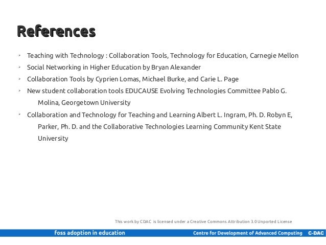Collaborative For Teaching And Learning ~ Collaboration tools in education