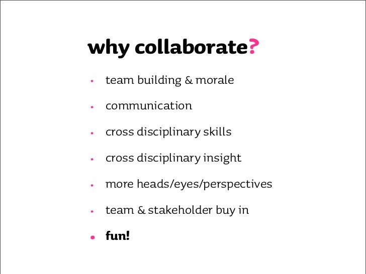 how do you collaborate now?          (do you?)