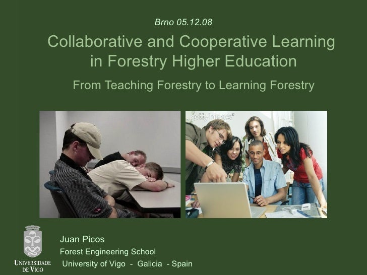 Collaborative and Cooperative Learning  in Forestry Higher Education From Teaching Forestry to Learning Forestry Juan Pico...