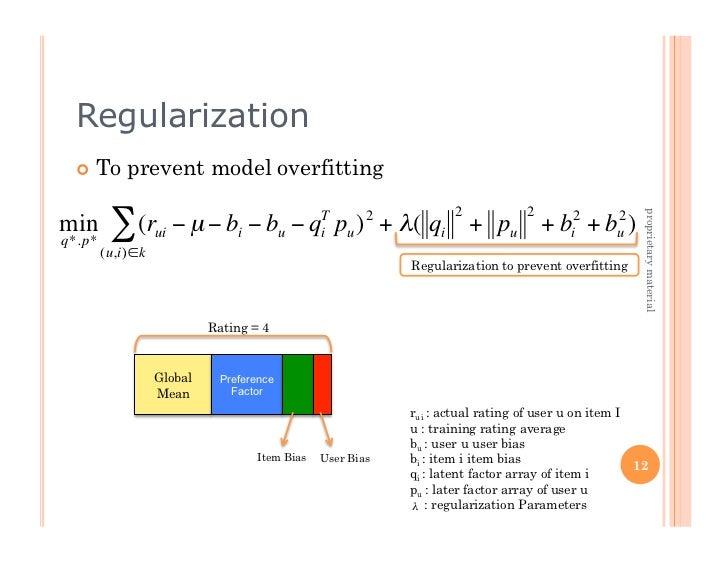 Regularization   To      prevent model overfitting                                                                    2 ...