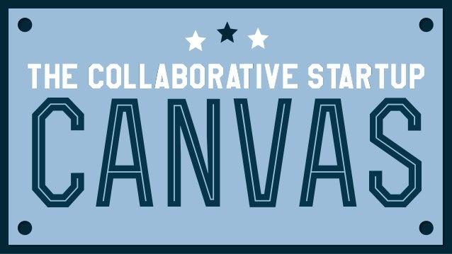 The collaborative Startup  canvas