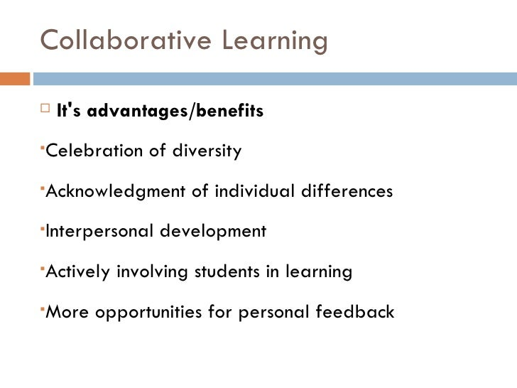 Collaborative Teaching Reaping The Benefits ~ Collaborative cooperative active learning