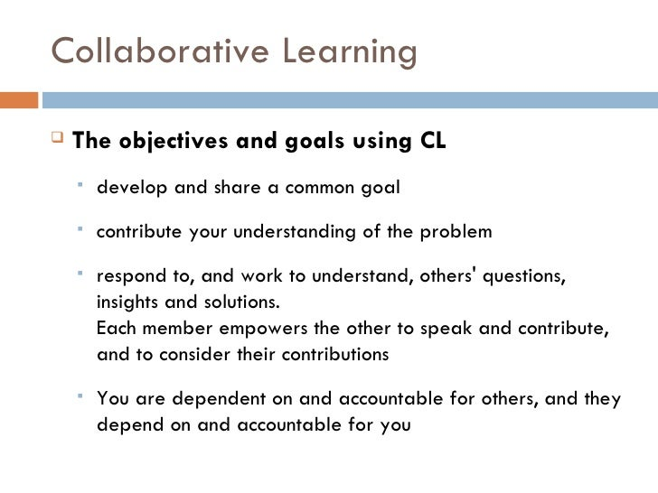 Collaborative Classroom Definition : Collaborative cooperative active learning