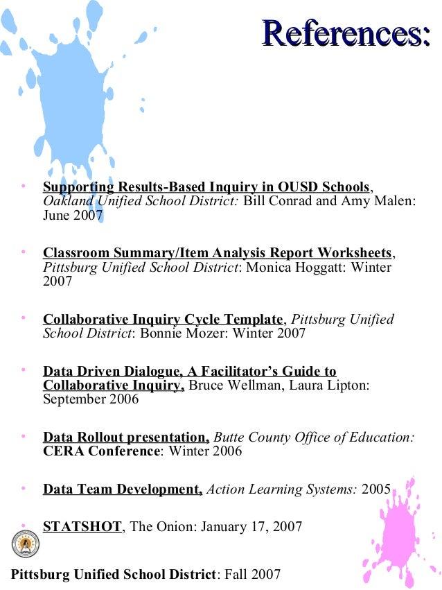 Collaborative Classroom Data ~ Collaborative data analysis powerpoint presentation