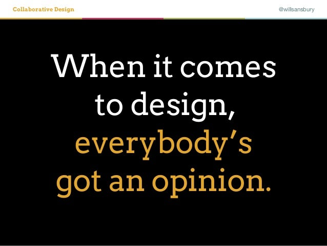 Collaborative Design with the Design Studio Method Slide 2