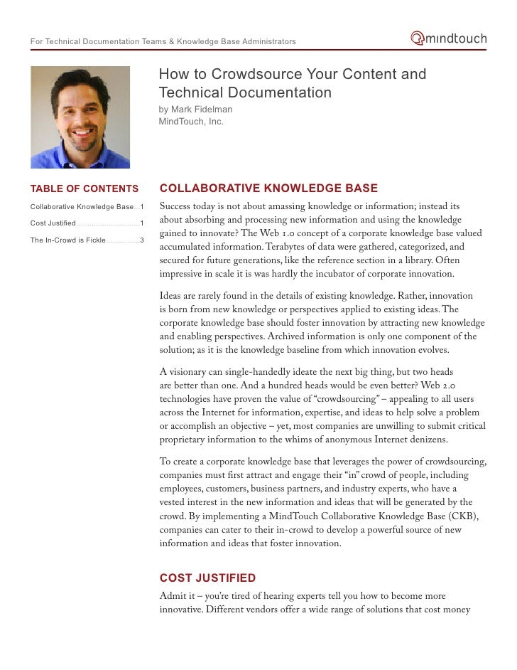 For Technical Documentation Teams & Knowledge Base Administrators                                                     How ...