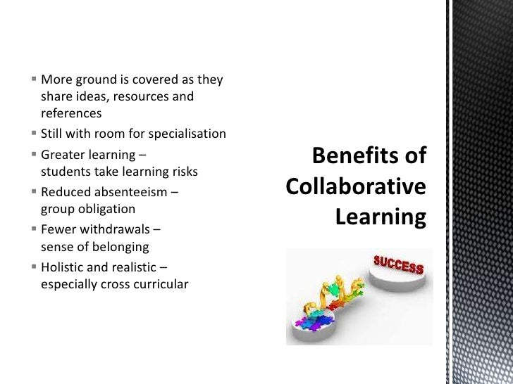 Collaborative Teaching Benefits To Students ~ Collaborative learning