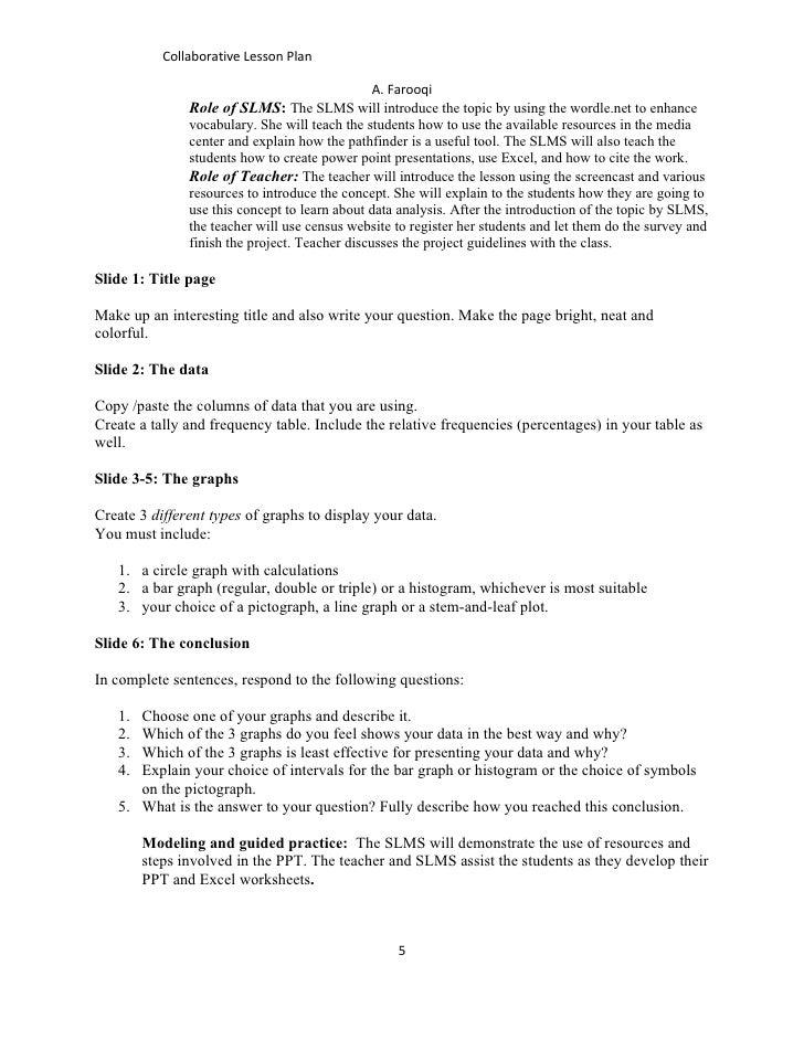 Collaborative Lesson Plan Farooqi