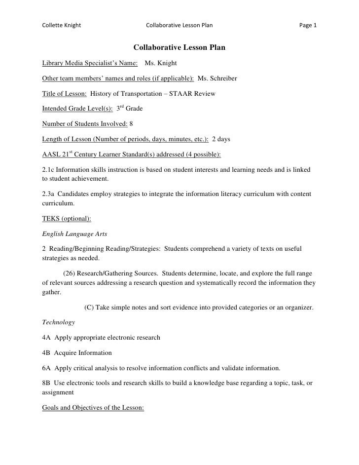 Lesson Plan Example Weekly Lesson Plan For Students Free Pdf - Literacy lesson plan template