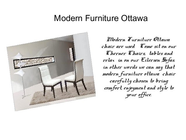 6. Modern Furniture Ottawa ...
