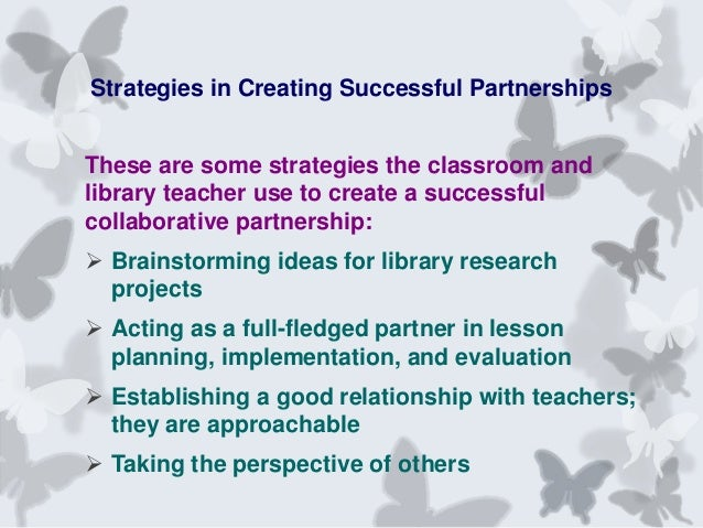 Collaborative Strategies In The Classroom ~ Collaborative partnerships between the library and