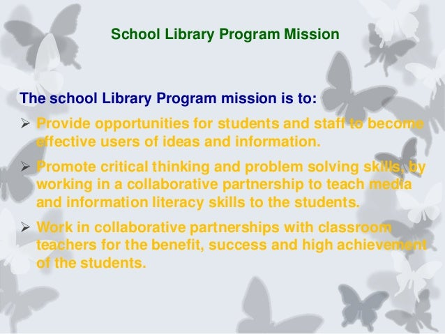 Collaborative Classroom Benefits ~ Collaborative partnerships between the library and