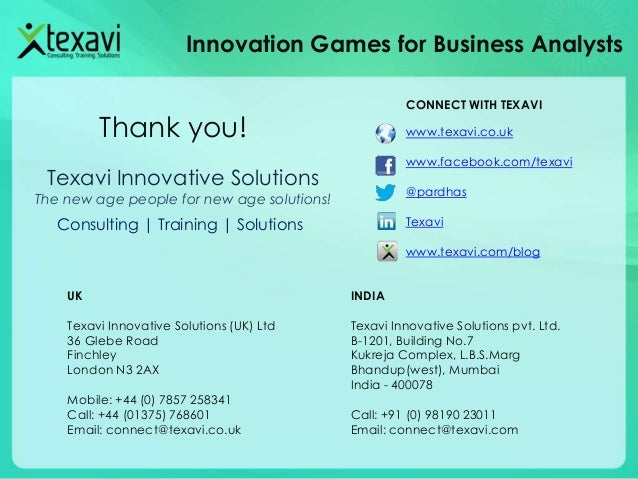 Collaborative product development through innovation games for Innovation consultancy london