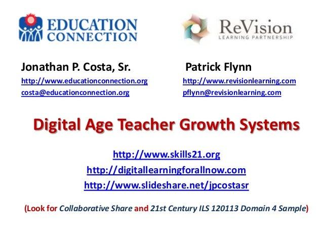 Jonathan P. Costa, Sr.  Patrick Flynn  http://www.educationconnection.org costa@educationconnection.org  http://www.revisi...