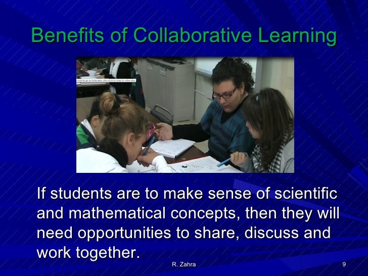 Collaborative Classroom Benefits ~ Collaborative student learning in chemistry