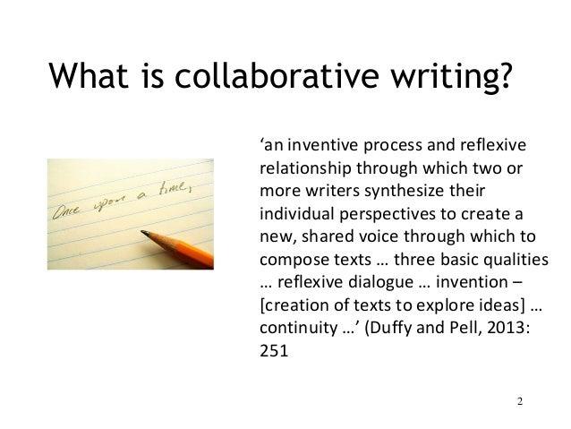 Collaborative fiction