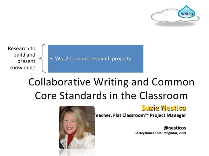 Collaborative Classroom Standards : Collaborative writing and common core standards in the