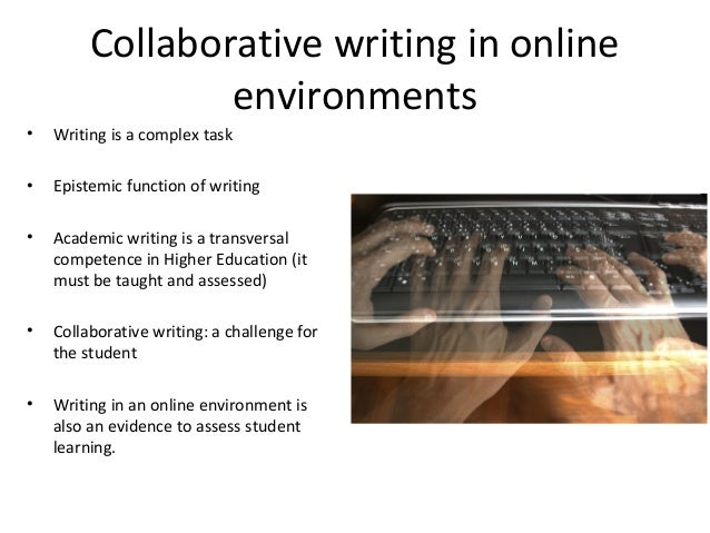 Collaborative Teaching Essay ~ Collaborative writing feedback vle master students gent