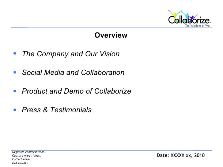 Collaborize Overview Slide 3
