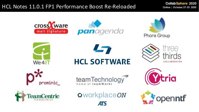 HCL Notes 11.0.1 FP1 Performance Boost Re-Reloaded