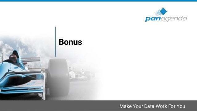 Make Your Data Work For You Bonus